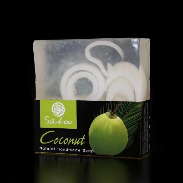 Savon carré naturel à la Noix de coco