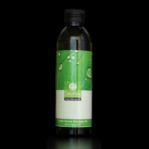 Huile de massage arôme fraîcheur - 200ml
