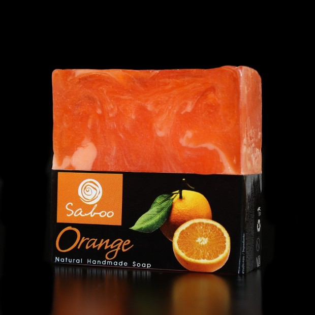 Savon carré naturel à l'Orange