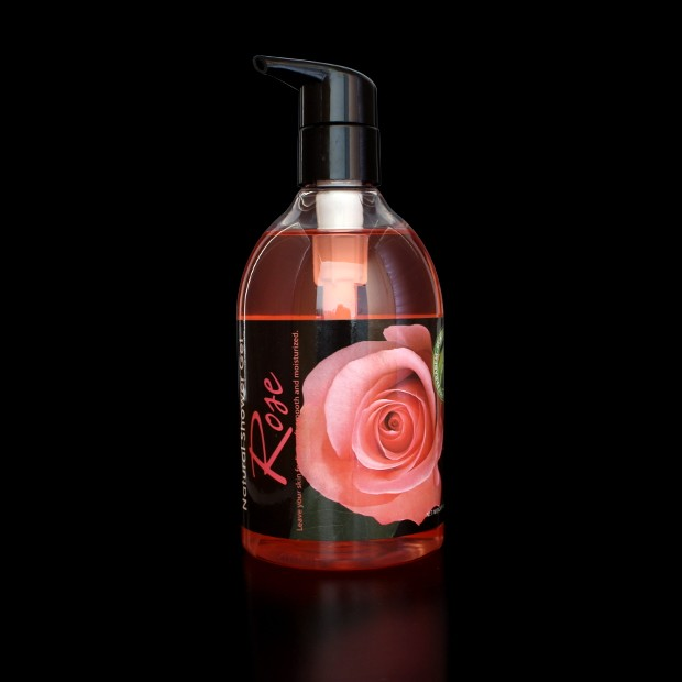 Gel douche à la rose