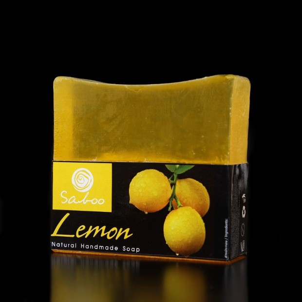Savon carré naturel au citron
