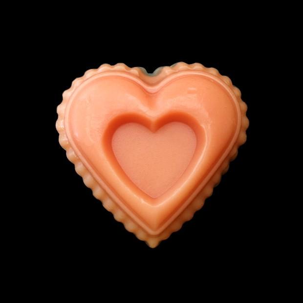 Savon fantaisie naturel cœur