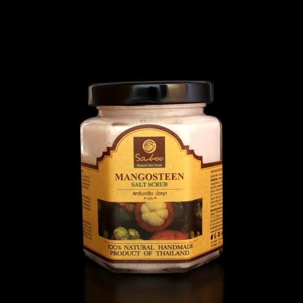 Gommage au sel et mangoustan