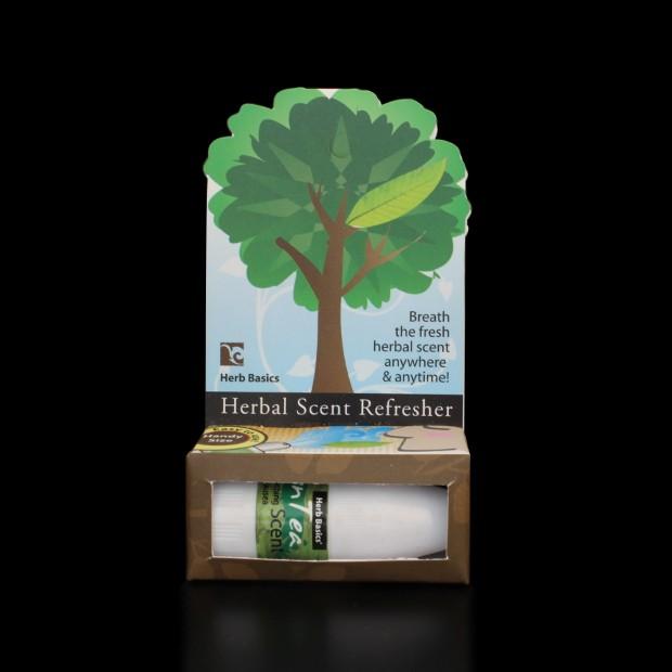 Inhalateur au thé vert