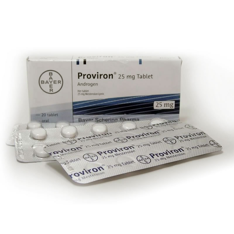 Proviron  25 mg  20 Tablets Bayer Lab