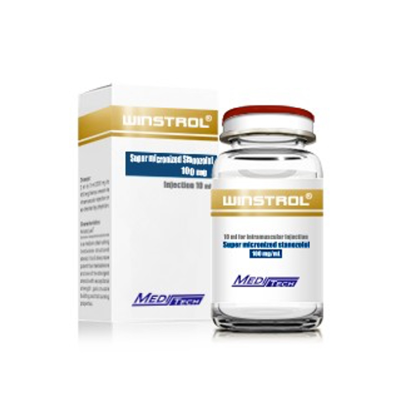 Winstrol / Super Micronized Stanozolol 100Mg/Ml Meditech