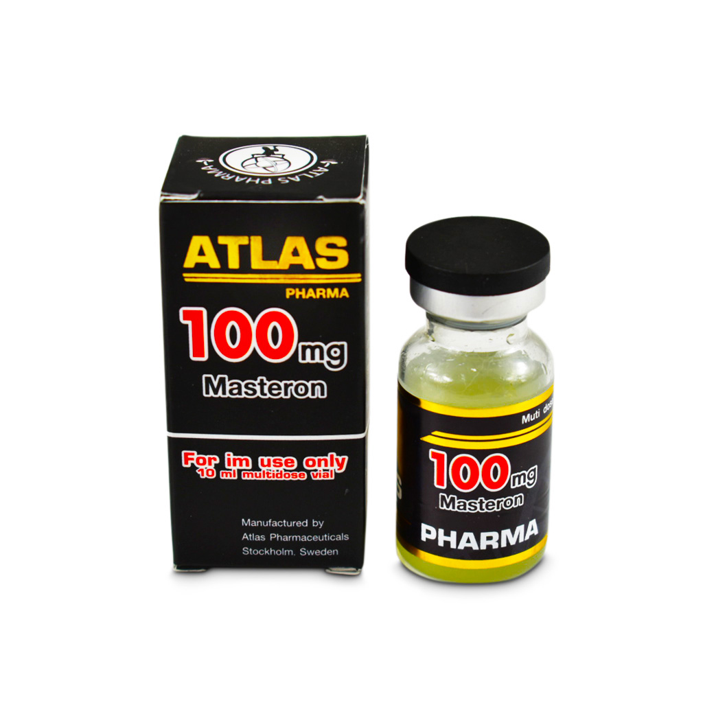 Masterone 100 10 Ml 100Mg/Ml Atlas Pharma