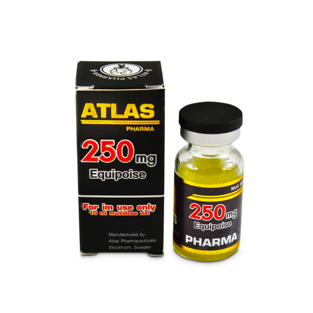 Equipoise 250 / Boldenone 10 Ml 250 Mg/Ml Atlas Pharma