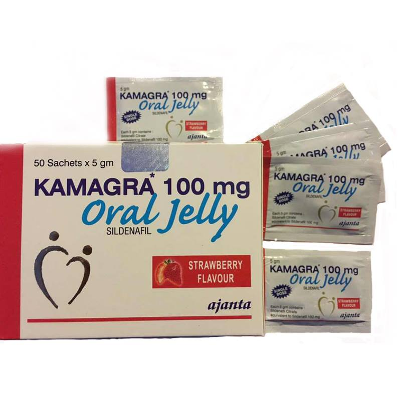 Kamagra Oral Jelly 50 bags 5G 100Mg