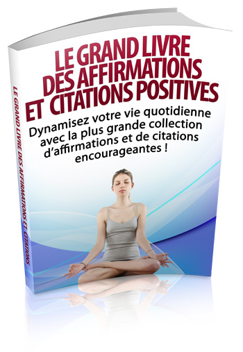 Affirmations et citations positives