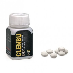 Clenbuterol 40 mcg 100 Tabs Black Dragon