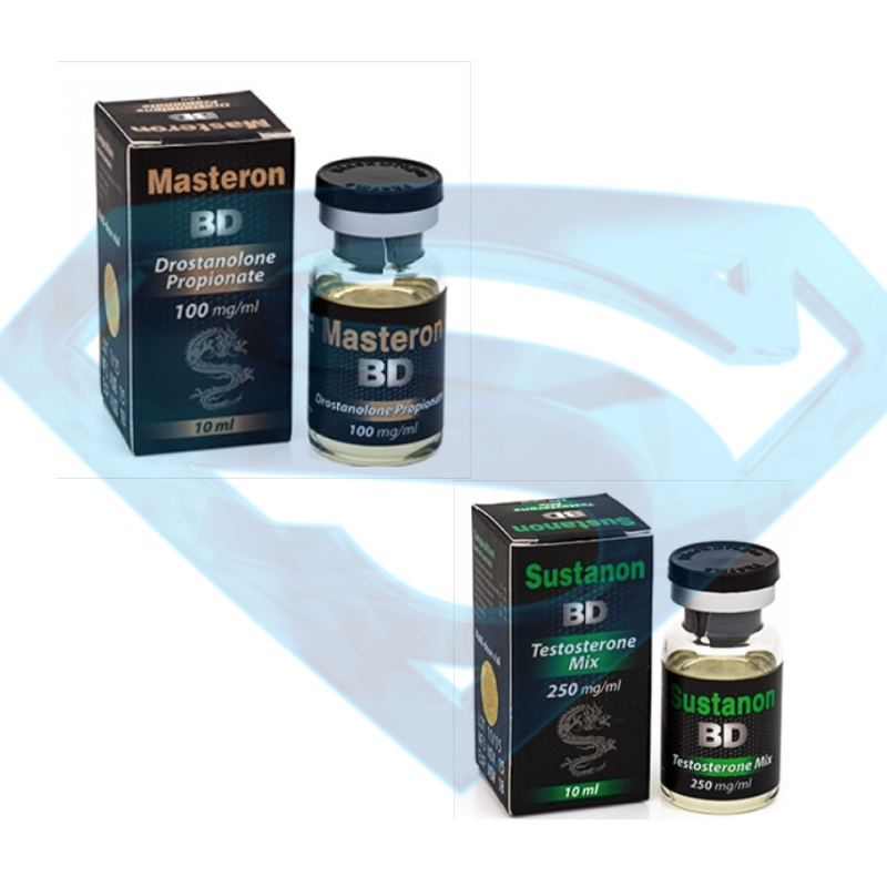 pack Voluminous Mass Gain Masterone 400 Susta 250 black dragon 4 Weeks
