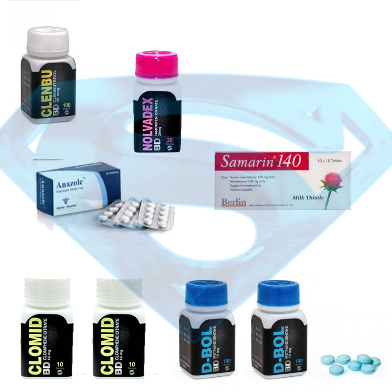 Pack Cutting Oral Dianabol + Clenbuterol 8 Weeks