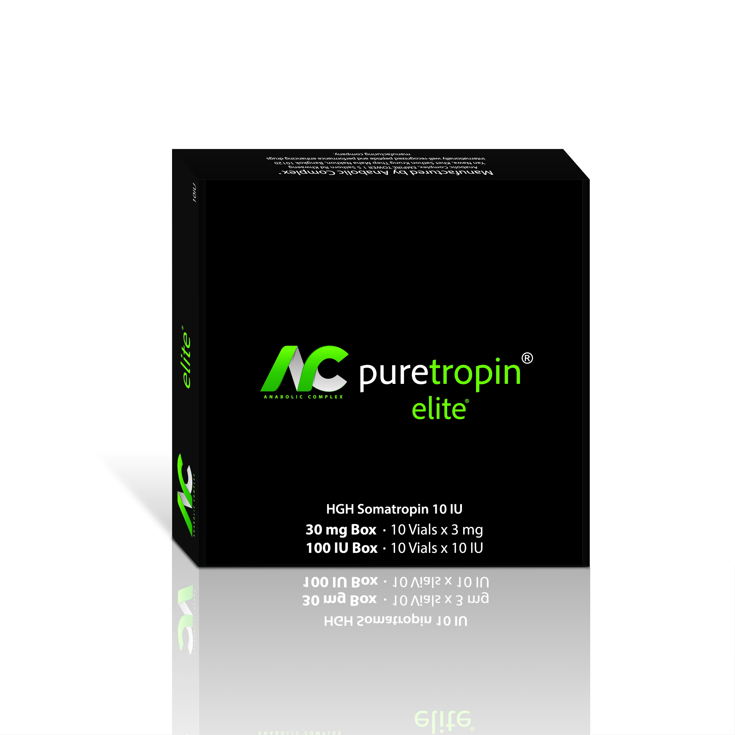 AAA Quality HGH Puretropin Elite Anabolic Complex 10 IU