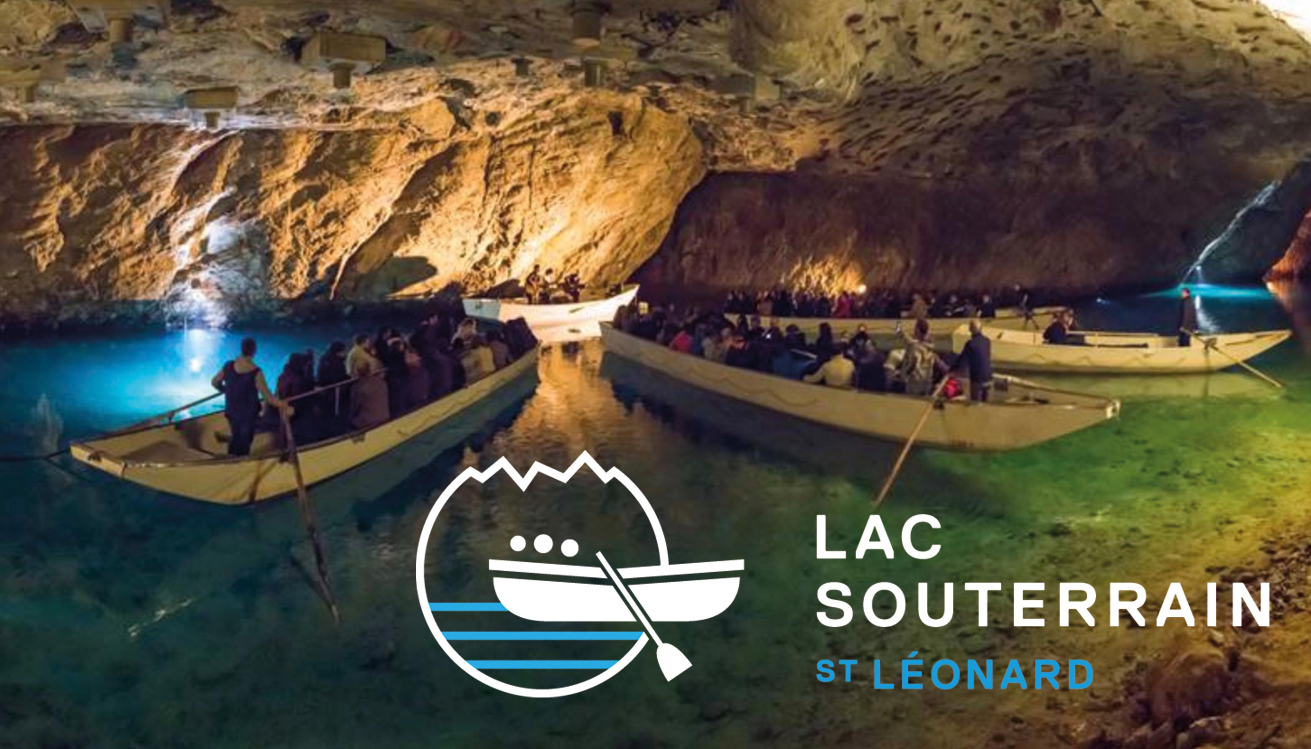 Visite guidée du lac souterrain de St-Léonard avec planchette valaisanne pour 2 personnes