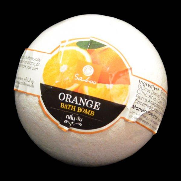 Bombe de bain à l'orange