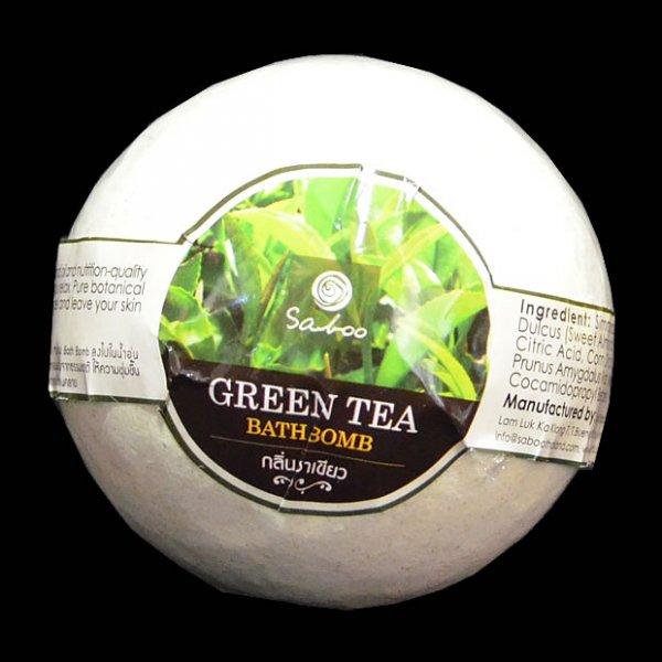 Bombe de bain au thé vert